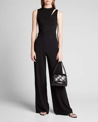 Alice + Olivia Ivy Fitted Cutout Jumpsuit