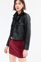 BDG Sybale Velvet Mini Skirt