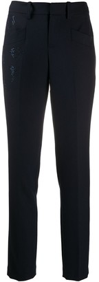 Zadig & Voltaire Tailored Trousers With Sparkle Embellishment