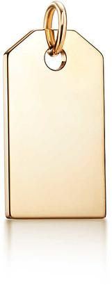 Tiffany & Co. Charms tag in 18k gold, medium