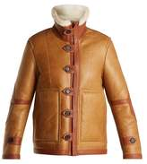 Joseph Witham reversible leather and shearling jacket