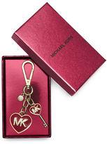 MICHAEL Michael Kors Enamel Heart Keychain