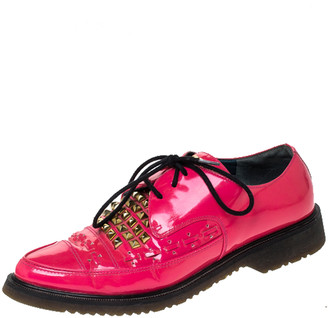 Marc by Marc Jacobs Pink Patent Leather Derby Size 38