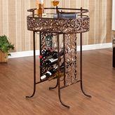 Southern enterprises Croft 9-Bottle Wine Storage Table