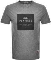 Penfield Brockton Logo T Shirt Grey