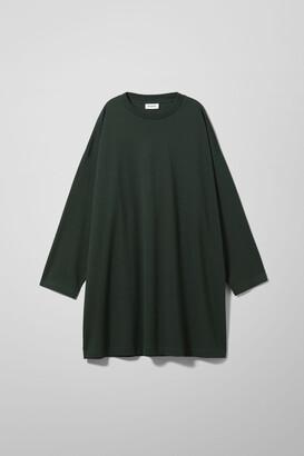 Weekday Elke Long Sleeve Dress - Black