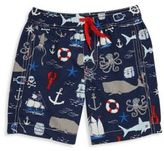 Hatley Toddler's, Little Boy's & Boy's Vintage Nautical Printed Shorts