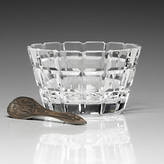 William Yeoward Blodwyn Salt Dish & Spoon