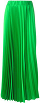 P.A.R.O.S.H. long-length elasticated waist pleated skirt - women - Polyester - L