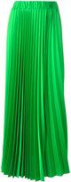 P.A.R.O.S.H. long-length elasticated waist pleated skirt