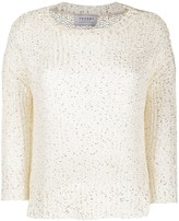 Snobby Sheep crew neck chunky knit jumper