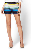 New York & Co. The Audrey 4 Inch Short - Stripe