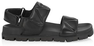 Prada Quilted Leather Sport Sandals