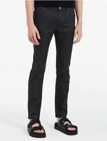 Calvin Klein Matte Waxed Denim Jeans