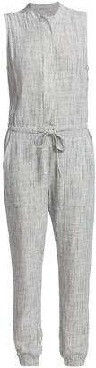Splendid Brook Linen-Blend Jumpsuit