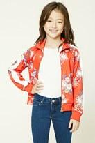 Forever 21 FOREVER 21+ Girls Floral Jacket (Kids)