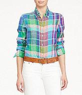 Polo Ralph Lauren Boy Fit Plaid Shirt
