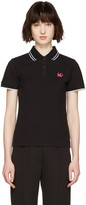 McQ by Alexander McQueen Black Swallow Polo
