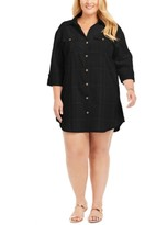 Dotti Plus Size Travel Muse Shirt Cover-Up Dress Women's Swimsuit