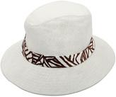 Asymmetric Brim Fedora Hat
