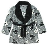 Disney Star Wars Boys Plush Fleece Bath Robe