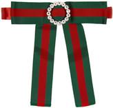 Gucci - Noeud papillon rouge et vert