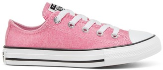 Converse Kids Chuck Taylor All Star Coated Glitter Ox Trainers