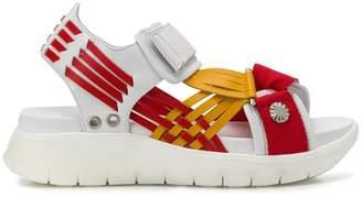 Toga Pulla ridged sole sandals