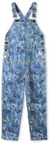 Stella McCartney rudy denim scribble and skate print dungarees