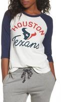 Junk Food Clothing Women's Nfl Houston Texans Raglan Tee