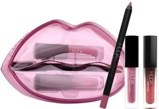 HUDA BEAUTY Matte & Cream Lip Set