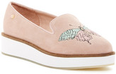 Australia Luxe Collective Bali Embroidered Platform Slip-On Sneaker