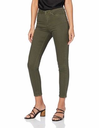 Springfield Women's 3.Gym.sarga Color Khaki-c/20 Trouser