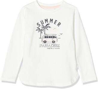 Noppies Girl's G Regular T-Shirt Ls Clemmons Long Sleeve Top