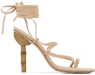 Cult Gaia Adina strappy sandals