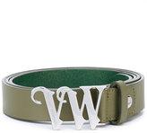 Vivienne Westwood logo buckle belt - women - Calf Leather - One Size