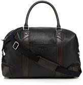 Jeff Banks Black Leather Holdall Bag