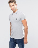 Benetton Pique Polo Shirt in Slim Fit