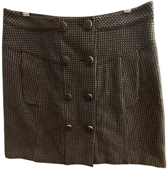 Gucci Brown Wool Skirt for Women