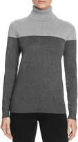 Calvin Klein Two Tone Turtleneck Sweater