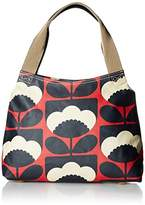 Orla Kiely Women's Classic Zip Bag Shoulder Handbag