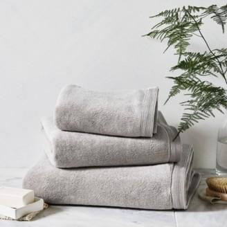 The White Company Ultimate Turkish Cotton Bath Sheet, Pearl Grey, Bath Sheet
