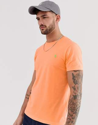 Polo Ralph Lauren player logo t-shirt in orange