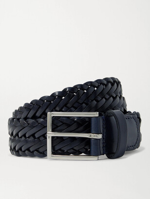 Andersons 3cm Woven Leather Belt