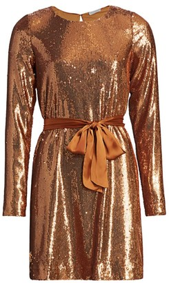 Ramy Brook Hallie Sequin Mini Dress
