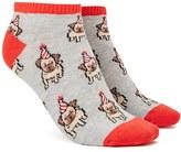 Forever 21 FOREVER 21+ Party Pug Ankle Socks