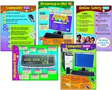 Trend Computer Skills Chart - Package of 4