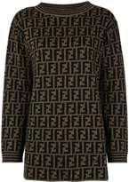 Fendi Pre Owned round neck long sleeve knit tops