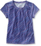 L.L. Bean Girls Trail Tee, Print