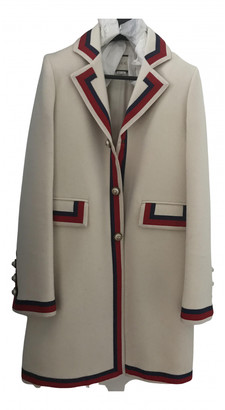 Gucci White Wool Coats